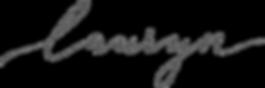 Photography by Lauryn logo