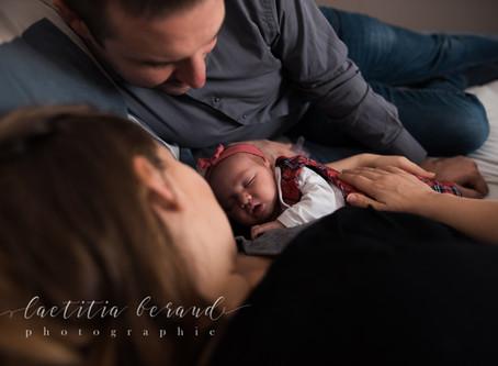 Lyse, 10 jours, séance photo de naissance à Eragny