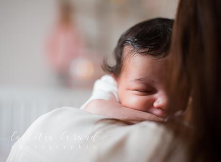 Séance photo naissance à Bois-Colombes, Anna, Tamara et Alexandre