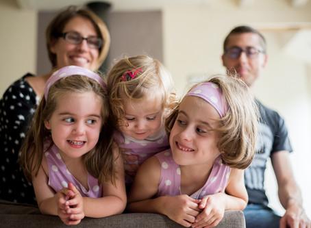 Séance photo de famille chez Amélie et Antoine
