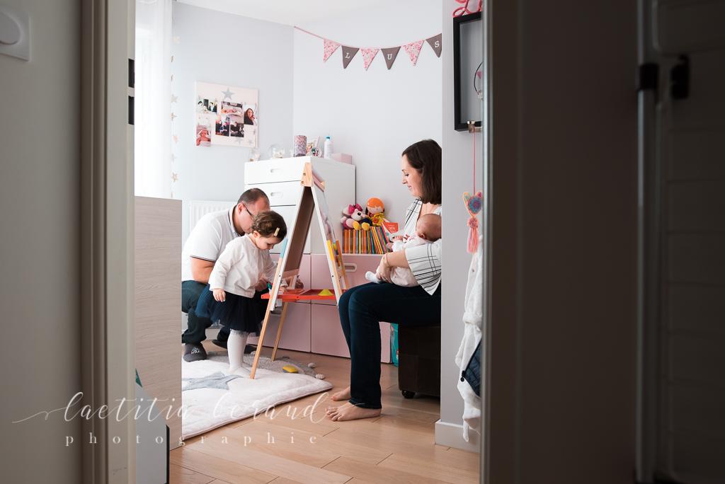 Photographe Lifestyle famille à domicile | Conflans-Sainte-Honorine | Laetitia Beraud Photographie