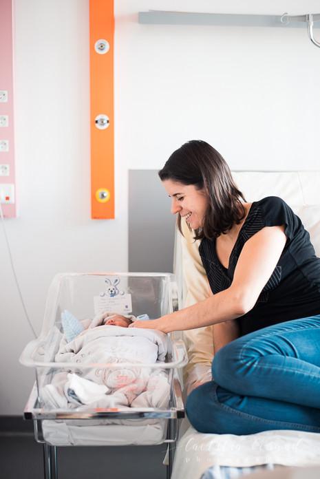 Photographe Nouveau-né Naissance Bébé à la maternité | Conflans Paris | Laetitia Beraud Photographie