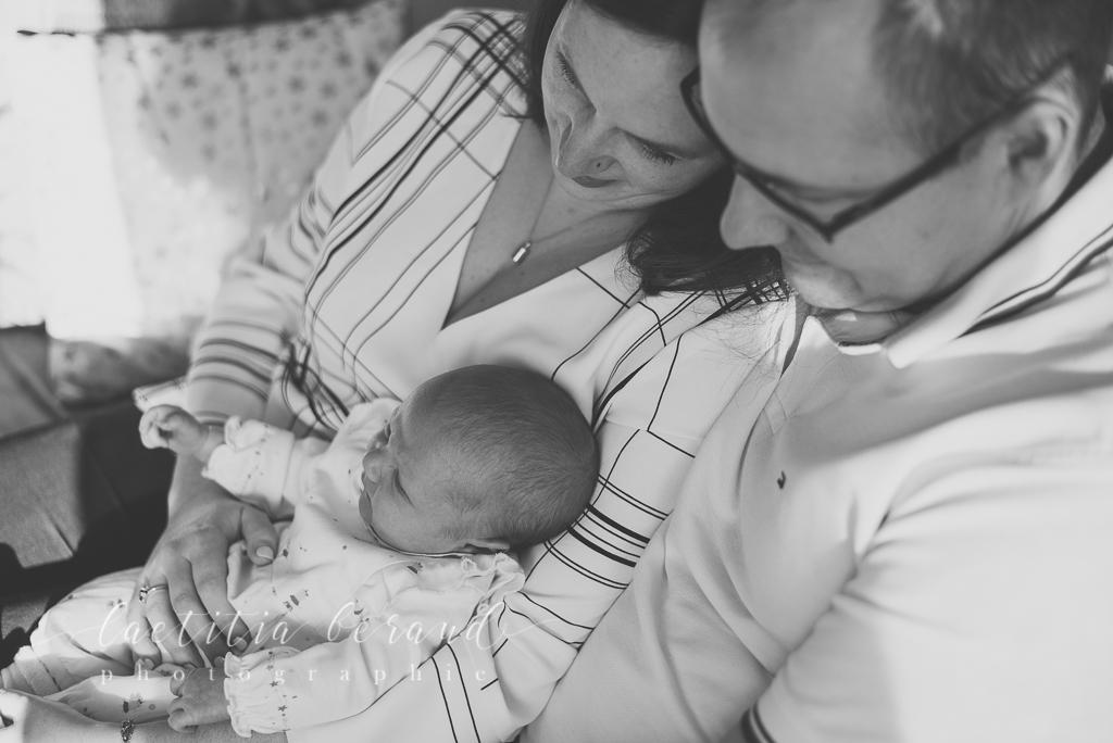 Photographe Lifestyle nouveau-né bébé naissance à domicile | Conflans-Sainte-Honorine | Laetitia Beraud Photographie