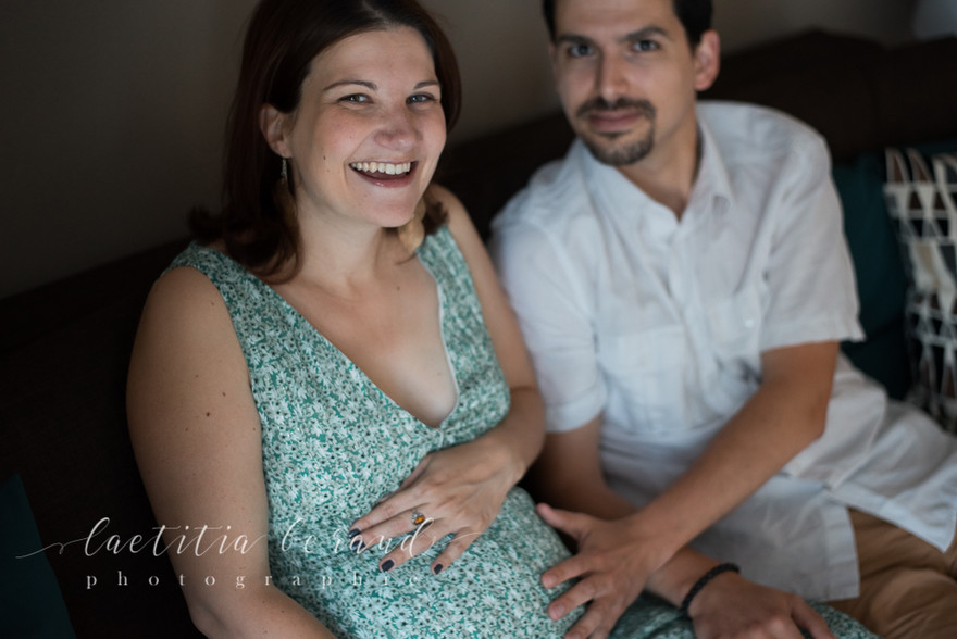 Photographe Lifestyle grossesse maternité femme enceinte à domicile   Conflans-Sainte-Honorine   Laetitia Beraud Photographie