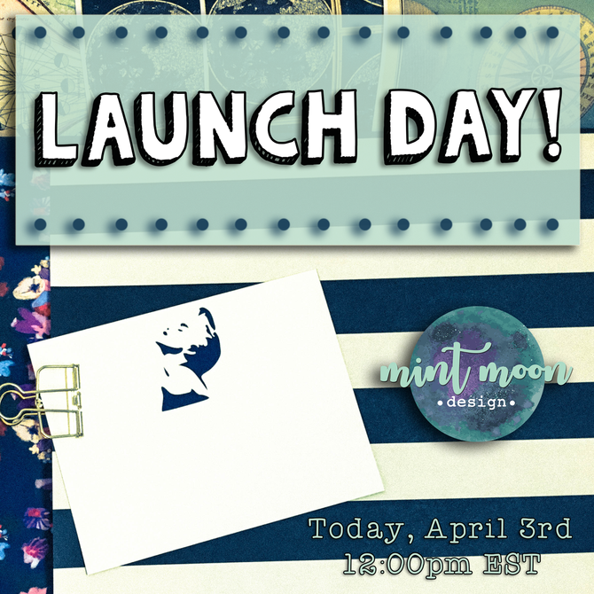 Launch Day is HERE!