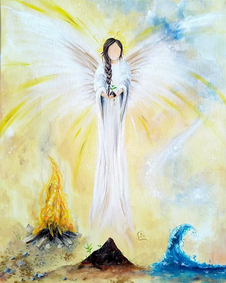 Engel der vier Elemente
