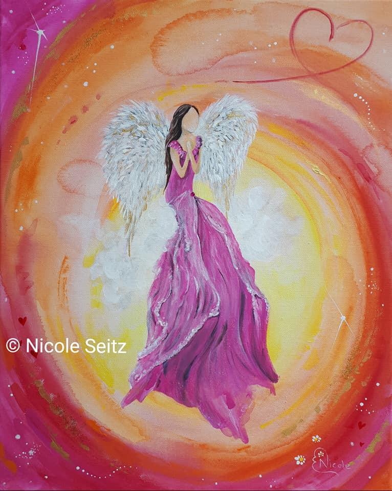Engel des Selbstvertrauens