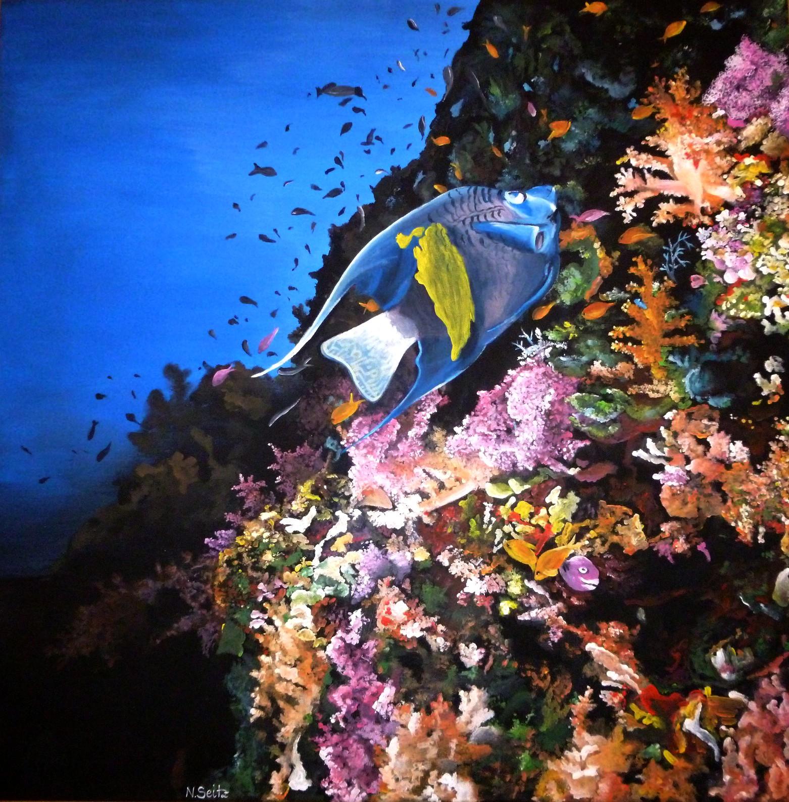 """""""Bunte Blumenwiese unterwasser"""""""