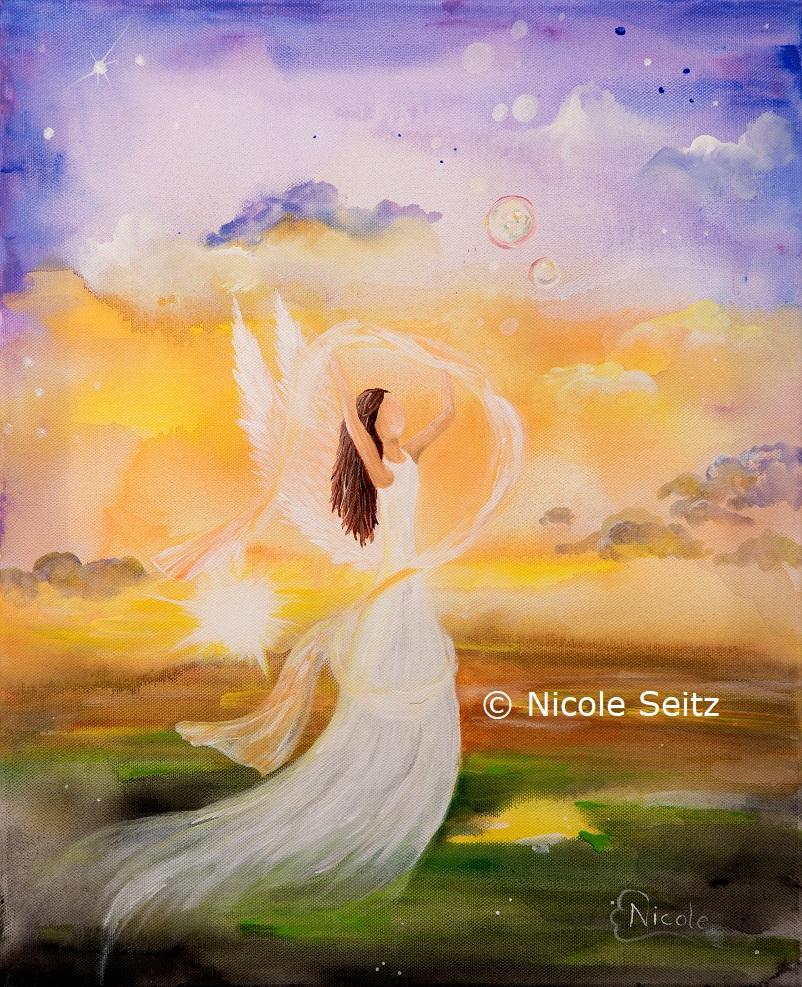 Engel der Leichtigkeit (des Loslassens)