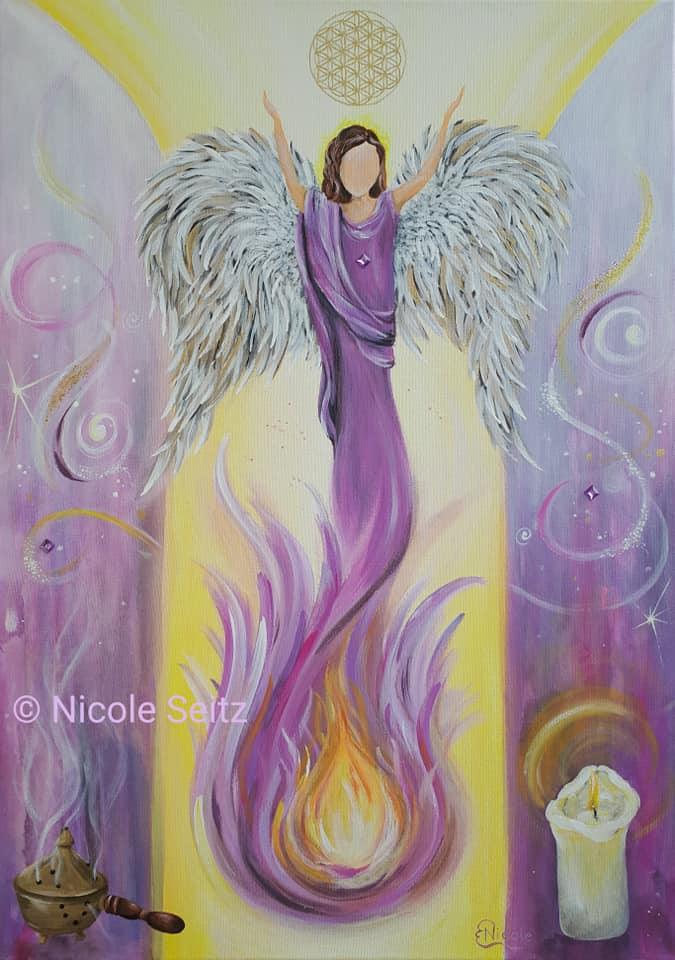 Engel zur energetischenHausreinigung