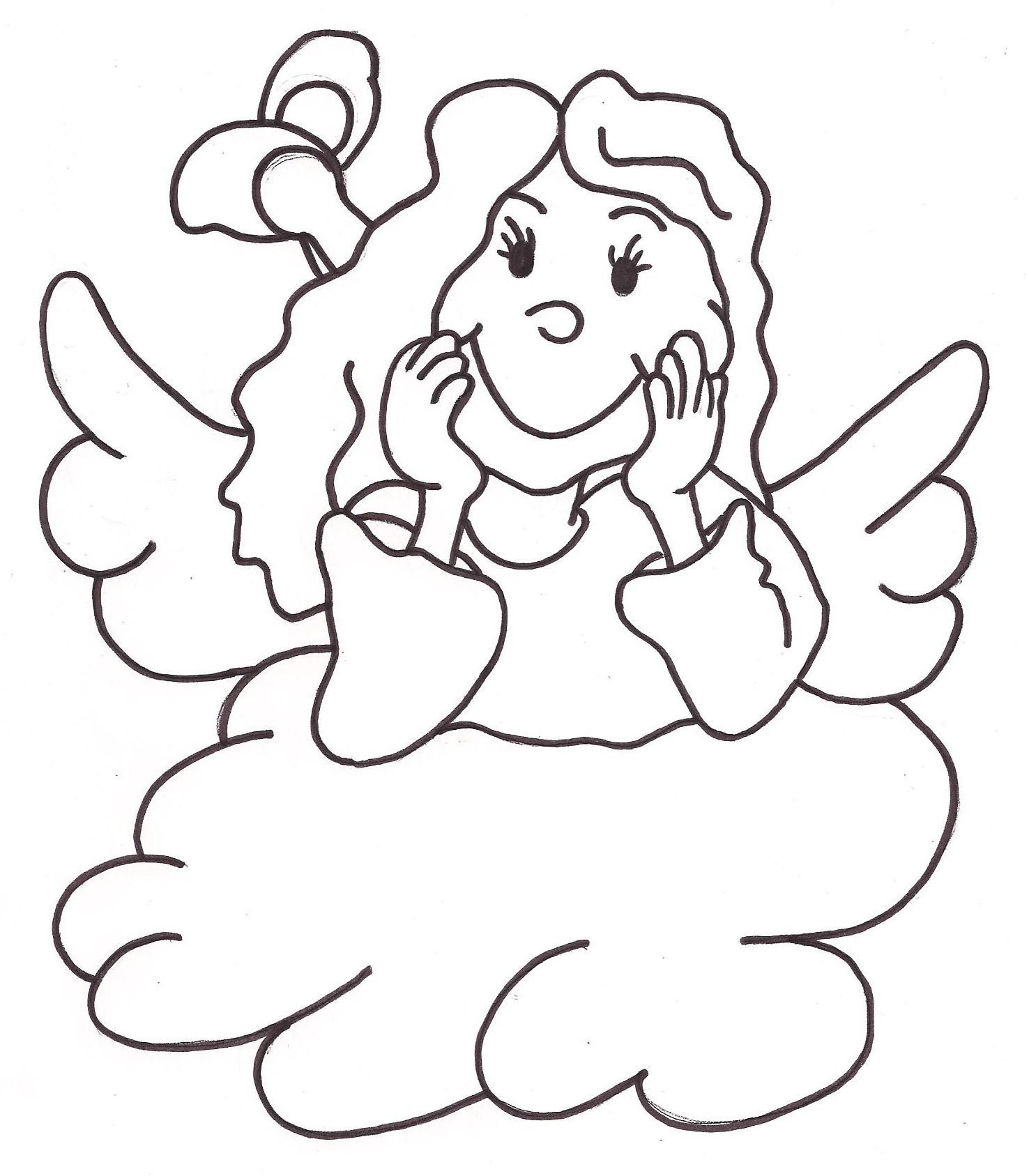 Engel auf Wolke