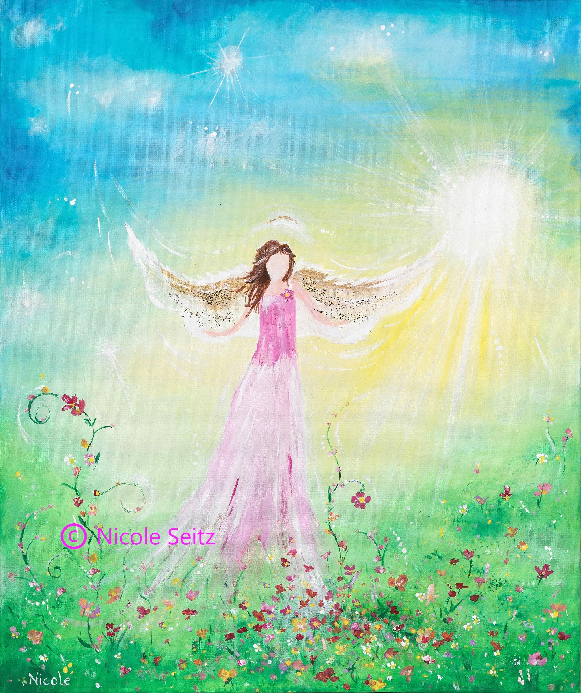Engel der freien Blumen