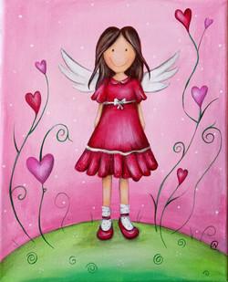 Engel im Herzgarten