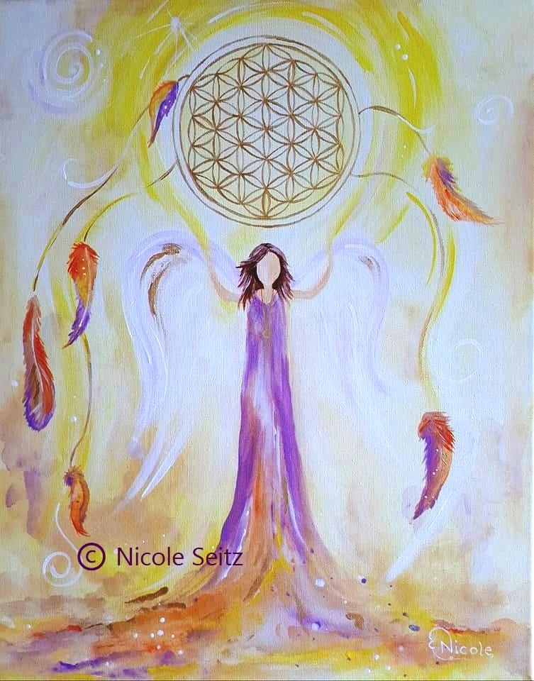 Engel der spirituellen Lebensfreude