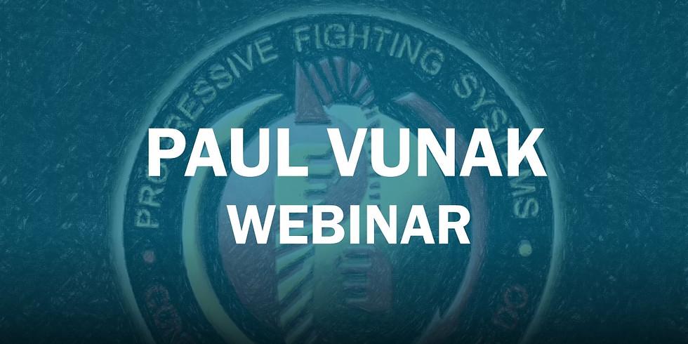 Progressive Fighting Systems Webinar - $30.00