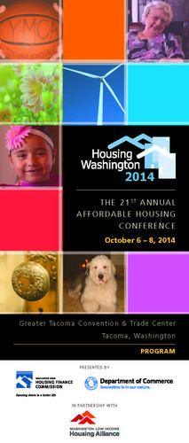 Housing Washington 2014 Program