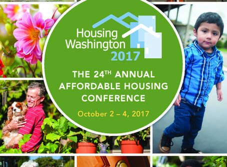 Affordable Housing Event Draws National Experts to the Annual Housing Washington 2017 Conference