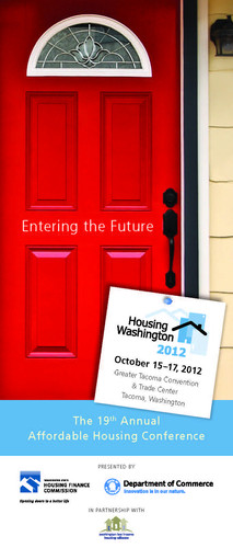 Housing Washington 2012 Program