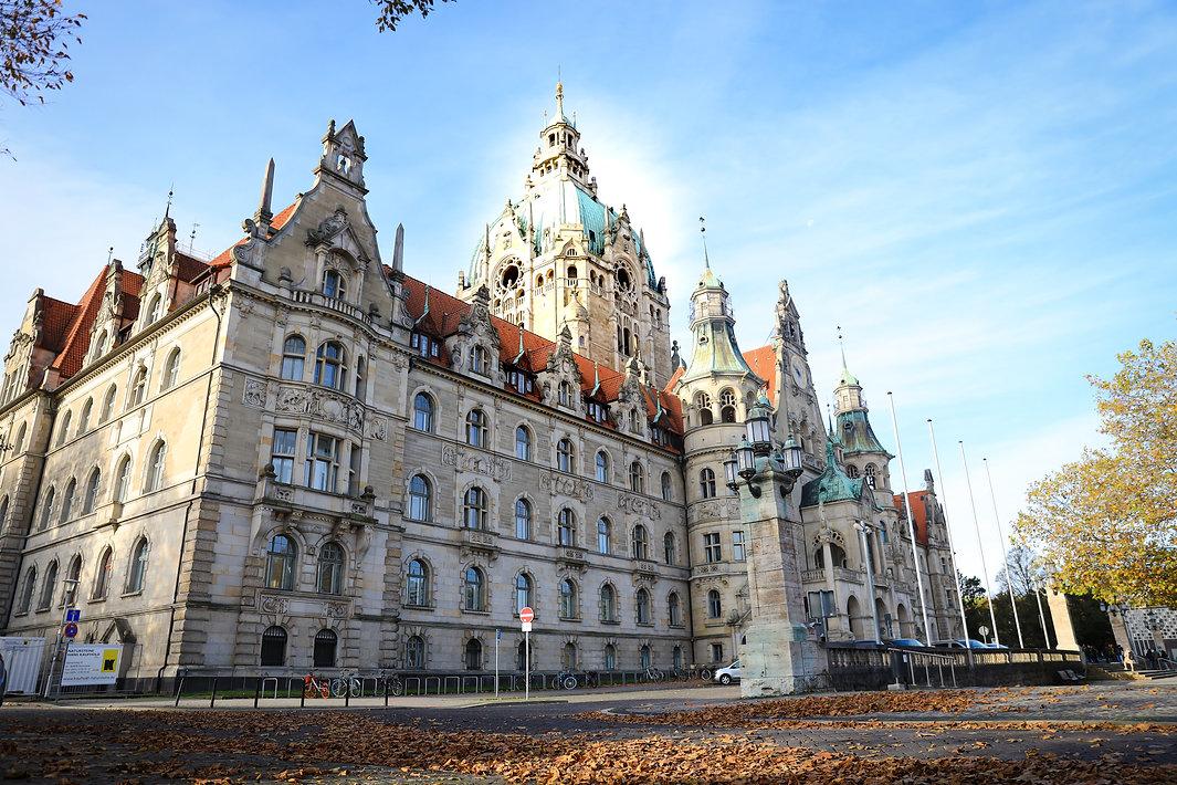 ハノーファの市庁舎