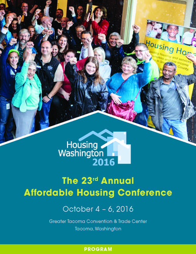 Housing Washington 2016 Program