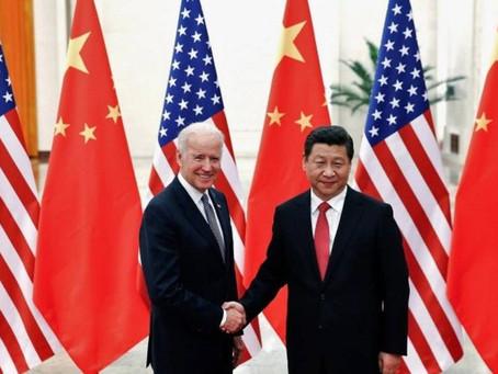 """""""Não se trata de punir a China"""", disse CREEPY Joe."""