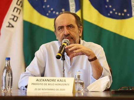 Alexandre Kalil ameaça fechar Belo Horizonte