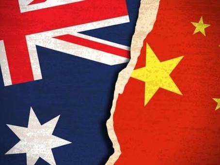 Austrália se junta à Índia em movimento de boicote à China.