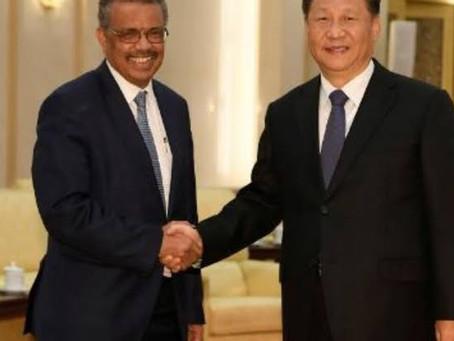 OMS é flagrada fazendo trabalho sujo para a China mais uma vez.