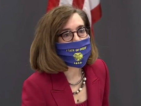 Governadora do Oregon diz que as pessoas devem chamar a polícia para quem violar o lockdown.