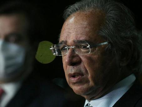 """""""Do ponto de vista do Governo, não existe prorrogação de auxílio emergencial"""", afirma Paulo Guedes."""