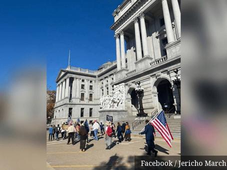 Marcha de Jericó acontece neste sábado nos EUA: cristãos oram nos estados contestados.