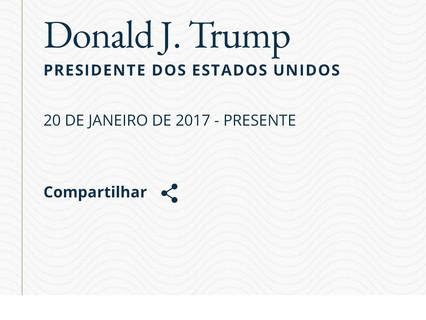 Diplomata afirma que Pompeo abriu investigação sobre mudanças nas páginas de Trump e Pence.