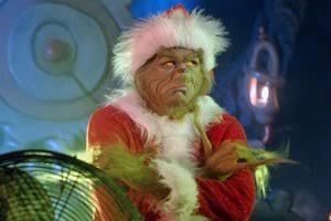 """""""Para o Grinch, Natal é o mal."""""""