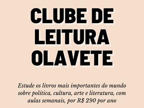 Clube Olavete: como aprender mais sobre livros e conhecer gente nova durante a eterna quarentena.
