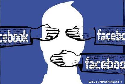 Facebook banindo todas as menções de 'pare o roubo' antes da posse de Biden.