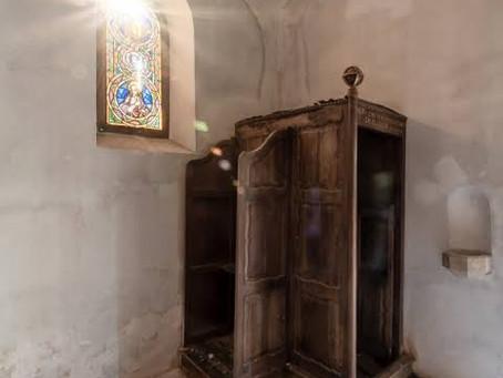 Relato de um confessionário.