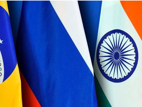 Líderes do BRICS realizam virtualmente a 12ª Cúpula nesta terça-feira.