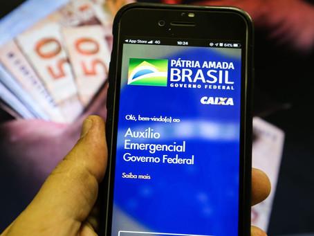Caixa paga auxílio emergencial para 3,2 milhões de beneficiários.