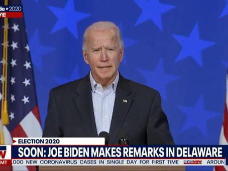 Eleições americanas: Joe Biden faz novo pronunciamento.