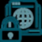 Ícone de segurança cibernética - Robôs de Investimento - Roôs Trader