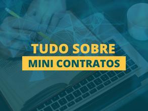 Mini contratos | Tudo o que você precisa saber