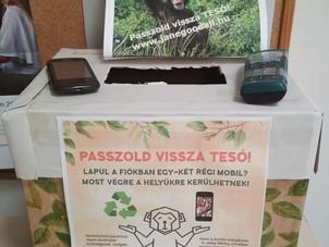 Használt mobiltelefongyűjtés