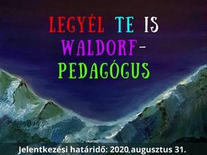 Legyél Te is Waldorf-pedagógus
