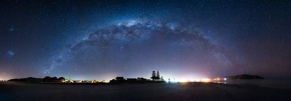 Milky Way Across Whanga