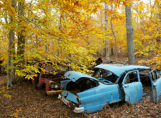Why decaying cars need our attention
