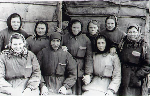 Доярки колхоза им. Ленина, Фото 1960 г.