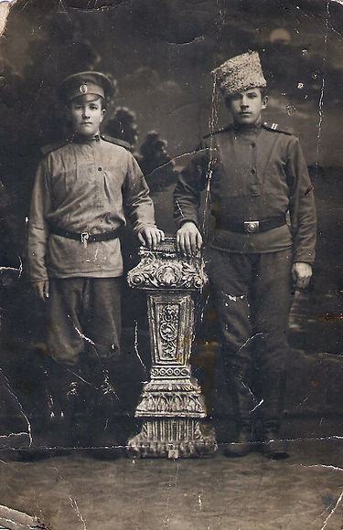 Братья Воронины, уроженцы с.Разветье, участники Первой Мировой