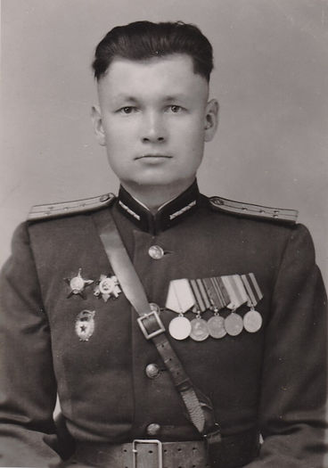 Шарапов Андрей Дорофеевич, внук михайловского купца, участник ВОВ