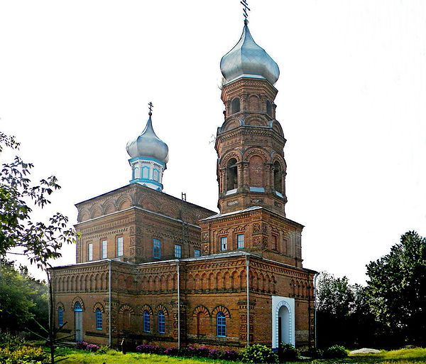 Казанский храм в с. Андросово. Фото 2011 г.