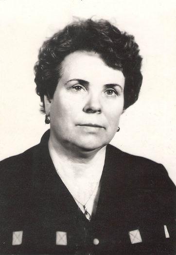Витюк Таисия Николаевна, первая заведующая Центральной городской библиотеки